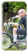 Uneasy Rider IPhone Case