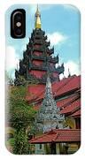 Unfinished Temple In Tachilek-burma IPhone Case