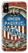 Union Pacific Crest IPhone Case