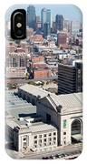 Union Station And Downtown Kansas City IPhone Case