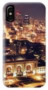 Union Station Night IPhone Case