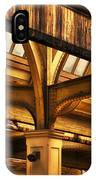 Union Station Roof Structure IPhone Case