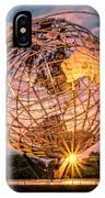 Unisphere At Sunset IPhone Case