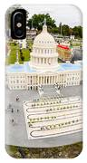 United States Capital Building At Legoland IPhone X Case