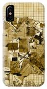 United States Map Collage 4 IPhone Case