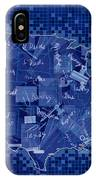 United States Map Collage 7 IPhone Case