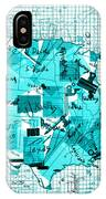 United States Map Collage 8 IPhone Case