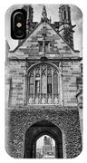 University Of Sydney-black And White V4 IPhone Case