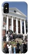 University Of Virginia Rotunda Graduation IPhone Case