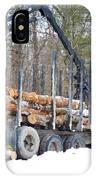 Unloading Firewood 2 IPhone Case