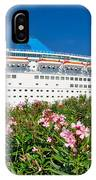 Unnamed Cruiser Docked On Waterfront IPhone Case