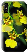 unnamed hybrid Orchid  IPhone Case