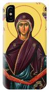 Unspoken Mary IPhone Case