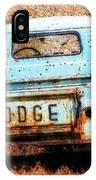 Unsuccessful Dodge IPhone Case