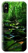 Up A Little River IPhone Case