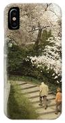 Up The Cherry Steps IPhone Case