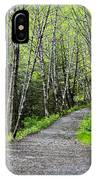 Up The Trail IPhone Case