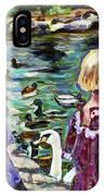 Upper Duck Pond IPhone Case