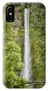 Upper Multnomah Falls IPhone Case