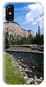 Upriver In Washake Wilderness IPhone Case