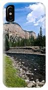 Upriver In Washake Wilderness IPhone Case