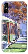 Streetcars Uptown New Orleans IPhone Case