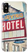 Chicago's Irving Hotel IPhone Case