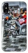 Ural Wolf 750 And Sidecar IPhone Case