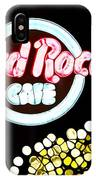 Urban Abstract Hard Rock Cafe IPhone Case