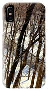Urban Forest At Dusk IPhone Case