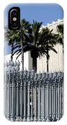 Urban Light Sculpture At The Museum Of Art In Los Angeles IPhone Case