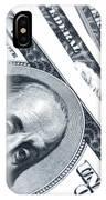 Us Dollar Bills  IPhone Case