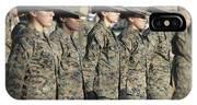 U.s. Marine Corps Female Drill IPhone Case
