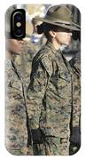 U.s. Marine Corps Female Drill IPhone Case