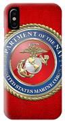 U. S. Marine Corps - U S M C Seal  IPhone Case
