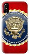 Presidential Service Badge - P S B IPhone Case