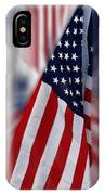 Usa Flags 03 IPhone Case