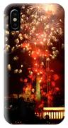Usa, Washington Dc, Fireworks IPhone Case