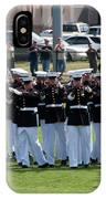 Usmc Silent Drill Platoon IPhone Case