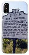 Va-q8i City Of Portsmouth IPhone Case
