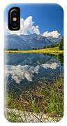 Val Di Sole - Covel Lake IPhone Case