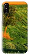 Val D'orcia Tree IPhone Case