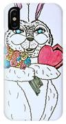 Valentine Bunny Love IPhone Case