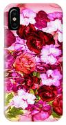 Valentine Flowers For You IPhone X Case