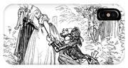 Valentines Day, 1855 IPhone X Case