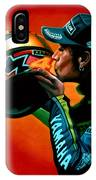 Valentino Rossi Portrait IPhone Case