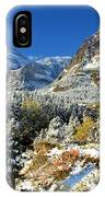 Valley Below Grinnell IPhone Case