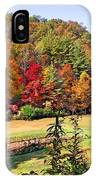 Valley Farm In The Fall IPhone Case