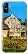 Valley Forge Barn IPhone Case
