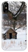 Valley Forge Winter 6 IPhone Case